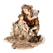 Скульптура «Мадонна и Иисус» 23см