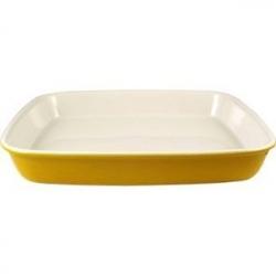 Блюдо для запек. прямоуг. желтое30.5*25.5см