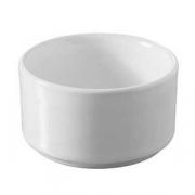 Форма для запек., фарфор, 60мл, D=65,H=35мм, белый