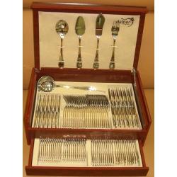 Набор столовых приборов «Atlantico Gold» 113 предметов на 12 персон