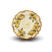 Блюдо круглое «Итальянские лимоны»