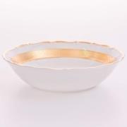 Набор салатников «Лента Рельеф золото» 19 см. 6 шт.
