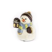 Статуэтка Снеговик с лампой