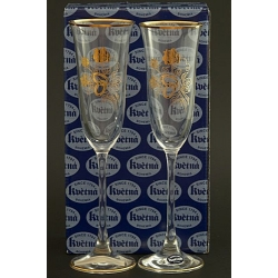 Подарочный набор из 2-х бокалов для шампанского