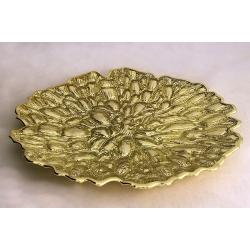 Блюдо 30 см «Moss Gold»