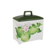 Банка для сыпучих продуктов Зеленые яблоки, большая
