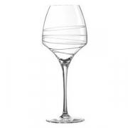 Бокал для вина «Оупэн ап арабеск», стекло, 400мл, H=23.1см