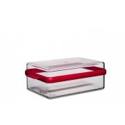Контейнер для хранения сыра «Стора» (Stora) Rosti Mepal 2 л. 23,7 x 15,2 x 8,7см (2л.) (красный)