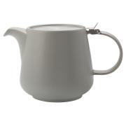 Чайник с ситечком 1.2л Оттенки (серый) в инд.упаковке