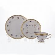 Набор чайный 6 перс. 18 пред. подарочный «Мейсенский цветок»