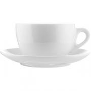 Пара чайная «Верона» фарфор; 360мл; белый