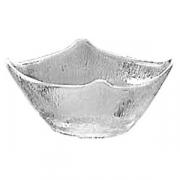 Салатник квадр.13.5*13.5см прозрачный