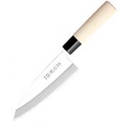 Нож кухонный «Деба» односторонняя заточка L=28.5/15см