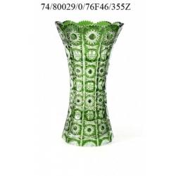 Ваза зеленая 355