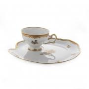 Набор чайный на1перс.2пред «Роза золотая-Эгоист»