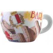Чашка кофейная с декором капучино «Bella Italia 2»
