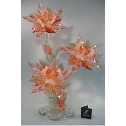 Композиция 3 орхидеи розовая, 65 см.