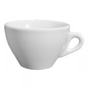 Чашка чайная «Торино», фарфор, 350мл, белый