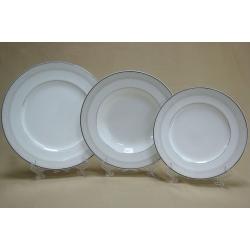Набор тарелок на 6 персон, 18 предметов. «Арабески»