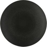 Тарелка мелкая «Экинокс» D=24, H=3см; черный