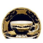 Набор чайный на 6 перс. 12 пред. подарочный «Кленовый лист синий»