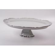 Блюдо овальное 50 см н/н. «Недекорированный»