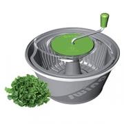 Центрифуга для сушки зелени, пластик, 20л, D=46,H=30см, серый,зелен.
