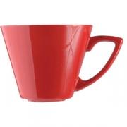 Чашка коф «Фиренза ред» 85мл фарфор