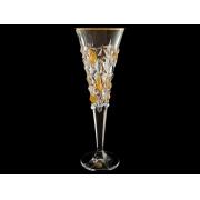 Бокал для шампанского зол. Glacier (набор 6 шт.)