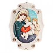 Настенное украшение «Мадонна с младенцами»