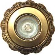 Галогеновый светильник. Цвет:коричневая и испанская патина