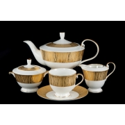 Сервиз чайный 17 пр. на 6 персон «Золотой бамбук»