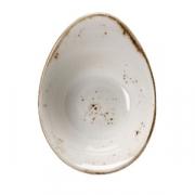 Салатник «Крафт», фарфор, 135мл, H=55,L=130,B=95мм, белый