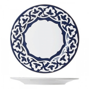 Тарелка мелкая «Восток», фарфор, D=27см, синий