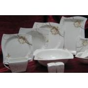 Набор тарелок «Милена» на 6 персон 18 предметов