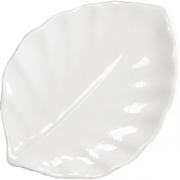 Блюдо-лист 35*25см фарфор