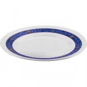 Тарелка мелкая «Астрал» D=200, H=19мм; белый, синий