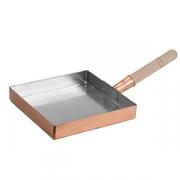 Сковорода для омлета «Канто»; медь; D=21см