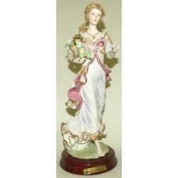 Статуэтка «Девушка с цветами» 34 см