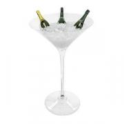 Бокал фуршетный для мартини, акрил, D=59,H=96.5см, прозр.