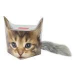 Кружка Котёнок с гитарой в подарочной упаковке + брелок-хвостик