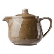 Чайник с крышкой «Кантри Стайл», фарфор, 450мл, D=8,H=9см, зелен.