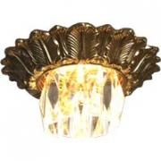 Галогеновый светильник.Цвет:коричневая и испанская патина