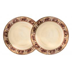 Набор из 2-х десертных тарелок «Натюрморт»