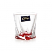 Набор стаканов 55 мл. 6 шт. «Квадро Красные»