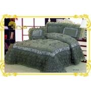 Покрывало Ария Сатин с декор. подушкой BRUNO 250х260