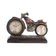 Часы настольные с термометром Мотоцикл