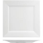 Тарелка квадратная «Кунстверк» H=25, L=270, B=270мм; белый