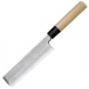 Нож усуба для овощей «Масахиро»; сталь,дерево; L=300/170,B=45мм; металлич.,бежев.