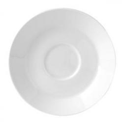 Блюдце «Монако вайт» d=15.25см фарфор